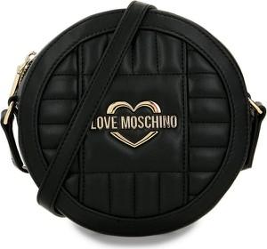 Czarna torebka Love Moschino mała na ramię