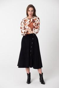 Spódnica NEATNESS w stylu klasycznym midi