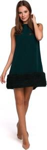 Sukienka Merg mini z tiulu