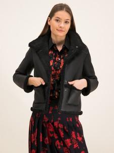 Czarny płaszcz Tory Burch