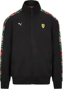 Bluza Ferrari w sportowym stylu z dresówki