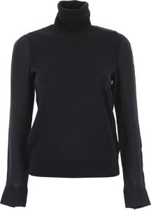 Granatowy sweter Tory Burch w stylu casual
