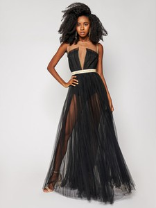 Czarna sukienka Elisabetta Franchi