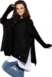 Czarny sweter Lemoniade z wełny