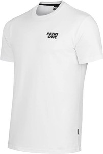 T-shirt Patriotic z nadrukiem z dżerseju w sportowym stylu