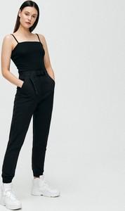Czarne spodnie Cropp w stylu klasycznym