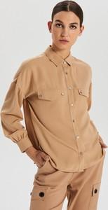 Koszula Cropp w stylu casual z kołnierzykiem