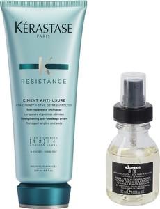 Kerastase Ciment Anti-Usure and OI Oil | Zestaw do odbudowy włosów: Cement 200ml + olejek do włosów 50ml - Wysyłka w 24H!