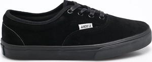 Czarne trampki Andy-Z