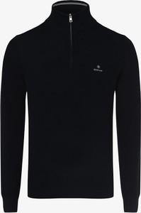 Sweter Gant ze stójką z wełny