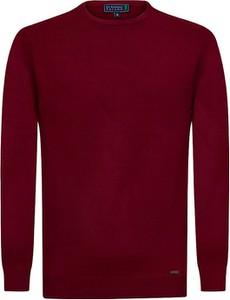 Czerwony sweter Sir Raymond Tailor z wełny