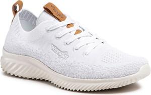 Buty sportowe Wrangler z płaską podeszwą
