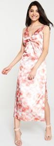 Sukienka V by Very w stylu boho z dekoltem w kształcie litery v maxi