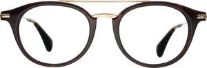 Czarne okulary damskie William Morris