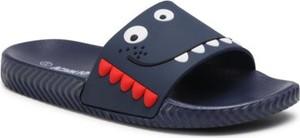 Granatowe buty dziecięce letnie Action Boy