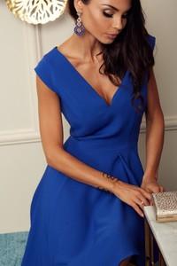 Niebieska sukienka Marconifashion