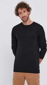 Czarny sweter Sisley