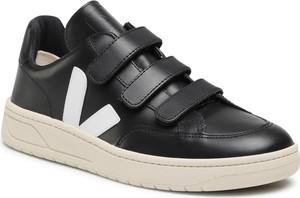 Sneakersy VEJA - V-Lock Leather XC022324B Black/White
