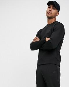 Czarna bluza Hugo Boss z dresówki
