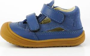 Buty dziecięce letnie Lamino na rzepy ze skóry