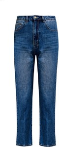 Niebieskie jeansy Ksubi w street stylu