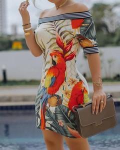 Sukienka Kendallme w stylu casual z krótkim rękawem mini
