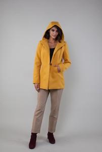 Płaszcz Nommo z wełny w stylu casual