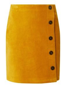 Spódnica S.Oliver Red Label mini ze sztruksu