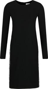 Czarna sukienka Iceberg z okrągłym dekoltem