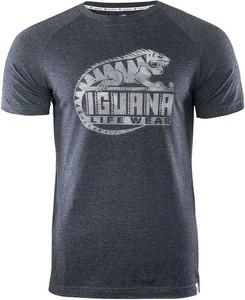 T-shirt Iguana w młodzieżowym stylu z krótkim rękawem z bawełny