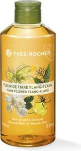 Yves Rocher Zmysłowy żel pod prysznic i do kąpieli Kwiat Tiare & Ylang Ylang