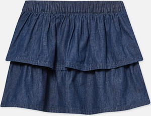Niebieska spódniczka dziewczęca Sinsay z bawełny