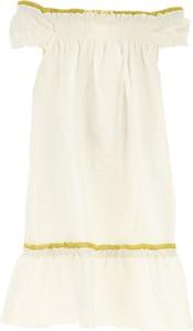 Sukienka dziewczęca La Stupenderia z lnu