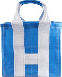 Niebieska torebka Comme Des Garçons duża w wakacyjnym stylu