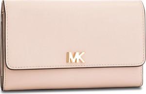 Duży Portfel Damski MICHAEL MICHAEL KORS – Money Pieces 32S8GF6E2L  Soft Pink