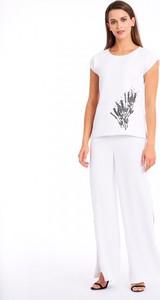 Spodnie POTIS & VERSO z tkaniny w stylu casual
