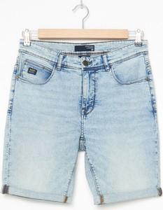 Niebieskie spodenki House z jeansu