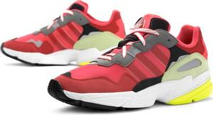 Buty sportowe Adidas ze skóry sznurowane