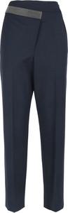 Niebieskie spodnie Brunello Cucinelli w stylu retro