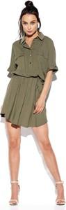 Sukienka Lemoniade z długim rękawem mini koszulowa