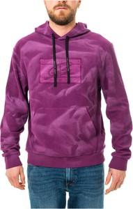 Fioletowa bluza Tommy Hilfiger z bawełny