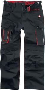 Czarne spodnie Black Premium By Emp z bawełny