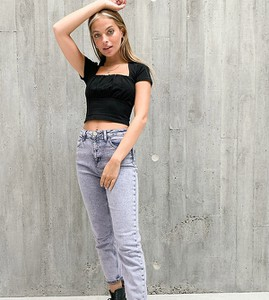 Fioletowe jeansy Asos