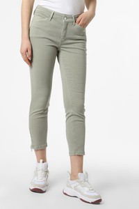 Zielone spodnie MAC