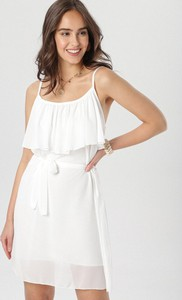 Sukienka born2be na ramiączkach trapezowa mini