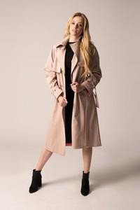 Płaszcz Holystic z tkaniny w stylu casual