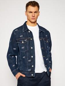 Kurtka Tommy Jeans z jeansu w młodzieżowym stylu krótka