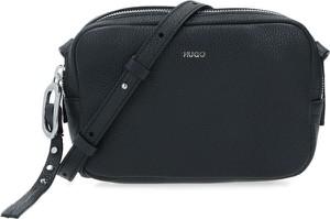 Czarna torebka Hugo Boss ze skóry
