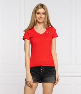 T-shirt Pepe Jeans z krótkim rękawem w stylu casual