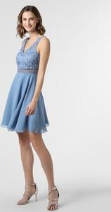 Sukienka SUDDENLY Princess rozkloszowana z dekoltem w kształcie litery v mini